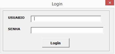 Tela para Informar Dados de Logon - Como Acessar Dados da Internet Usando Programação VBA no Excel