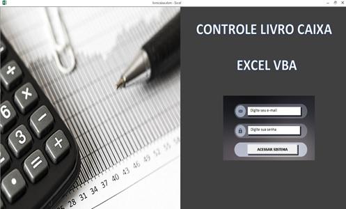 Crie uma Planilha de Controle de Livro Caixa com Excel, VBA e Access como Banco de Dados - Abertura