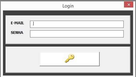 Tela de Logon do Sistema - Informar Usuário e Respectiva Senha