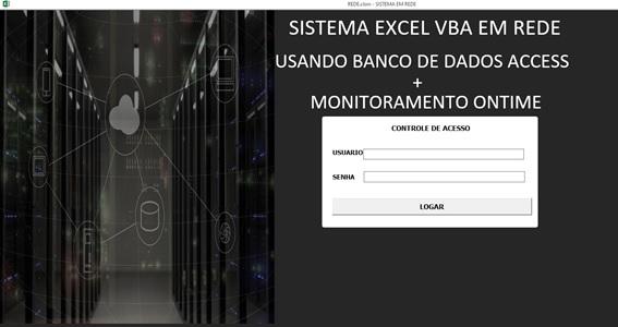 Sistema de Cadastro de Clientes em Excel, VBA e com o Access como Banco de Dados e que roda em Rede