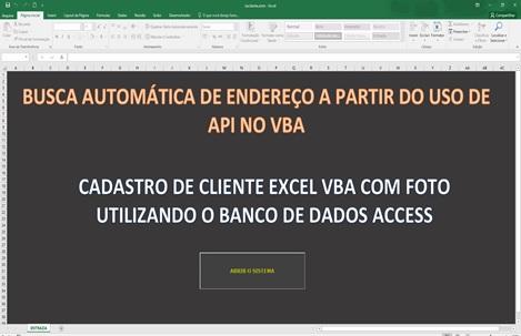 Acessando APIs a partir do Excel usando VBA - Preenchimento Automático de Endereço a Partir do CEP