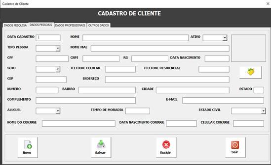 Acessando APIs a partir do Excel usando VBA - Preenchimento Automático de Endereço a Partir do CEP - Cadastro de Clientes