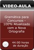 Pacote de Vídeo-Aulas: Gramática para Concursos