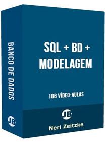 [186 Vídeo Aulas em 3 DVDs - Frete Grátis]: Linguagem SQL + Banco de Dados + Análise e Modelagem de Banco de Dados - Curso Completo - 186 Vídeo Aulas - 3 DVDs
